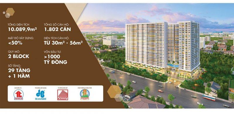 Giá bán căn hộ legacy central Thuận An