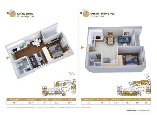 thiết kế căn hộ legacy Bình Dương
